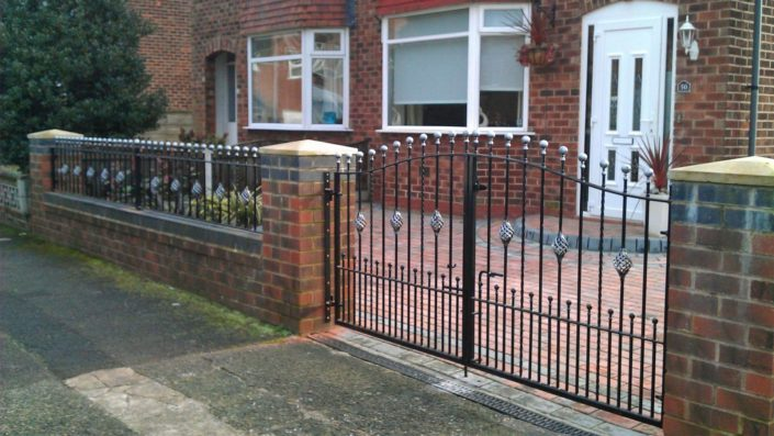 wrought iron gates in Newcastle upon Tyne