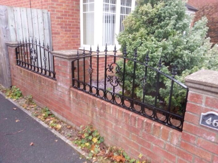 Wrought iron gates railings Birmingham