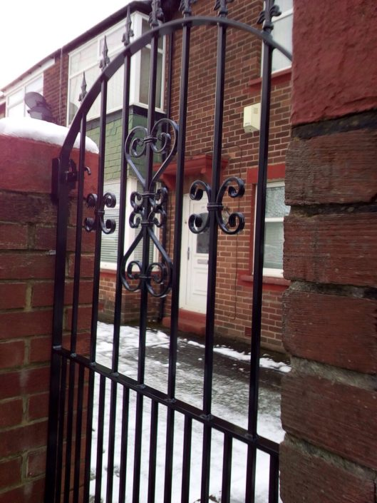 Wrought iron gates railings Manchester
