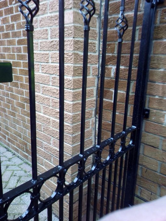 Wrought iron gate railings Sheffield